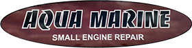 Aqua Marine Small Engine Repair Logo